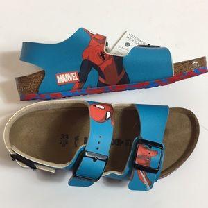 NWT/ Birkenstock | SpiderMan sandals shoe 2-2.5